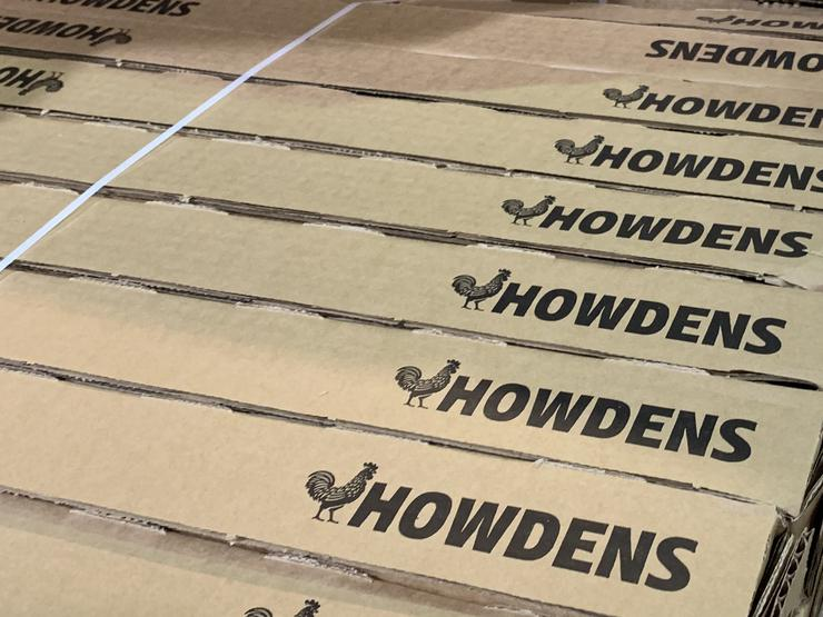 Howdens stock with new logo