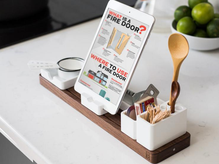 ipad-in-the-kitchen_Firedoor