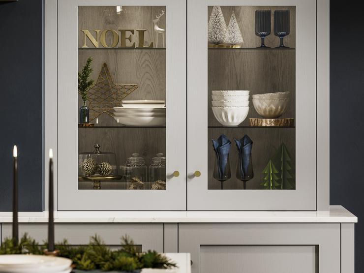 Christmas Dresser in Chilcomb Dove Grey