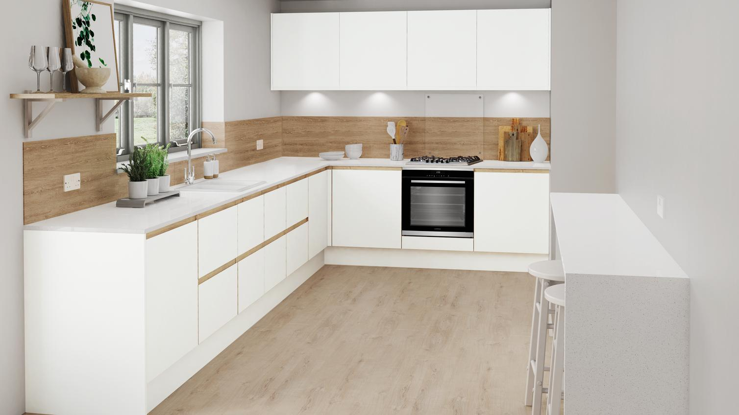 Trim Under Kitchen Cabinets : How To Trim Out Ikea ...