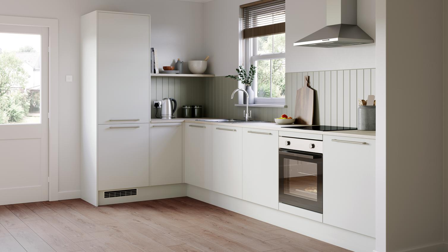Greenwich Dove Grey Kitchen Fitted Kitchens Howdens