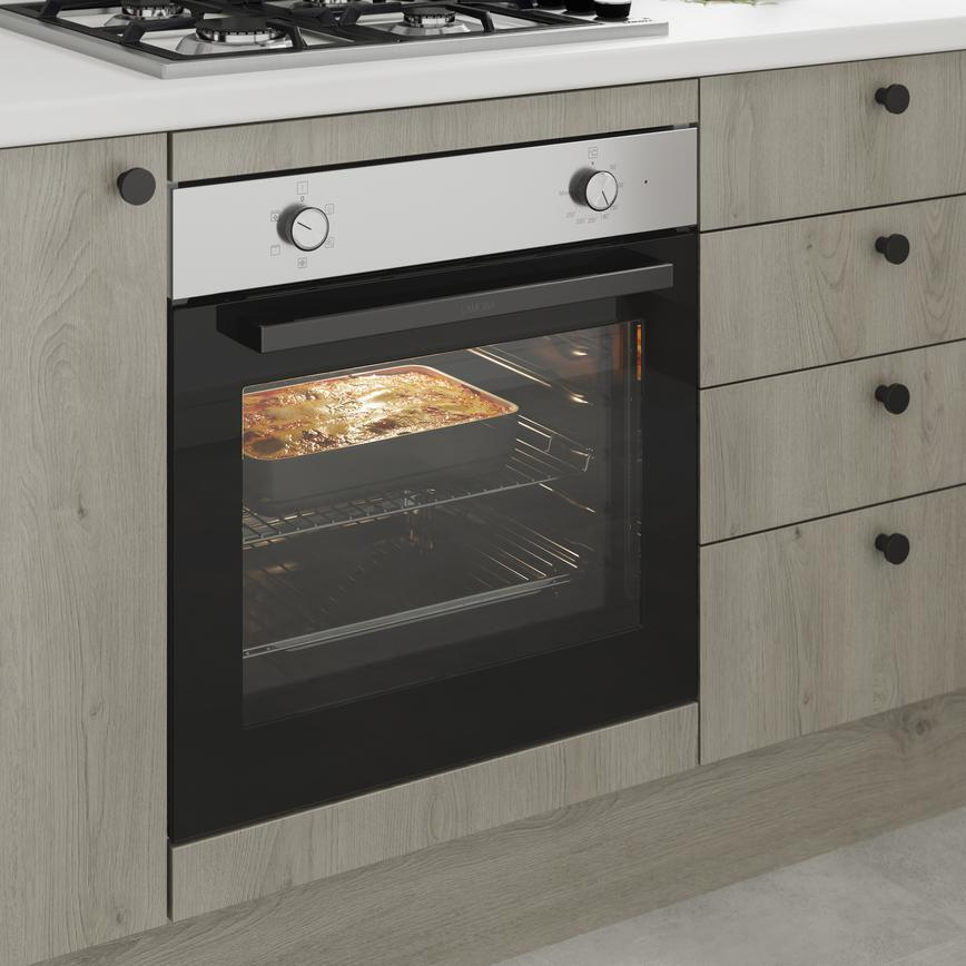 Greenwich Light Grey Oak Oven