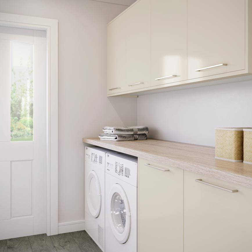 Greenwich Gloss Ivory Utility Room
