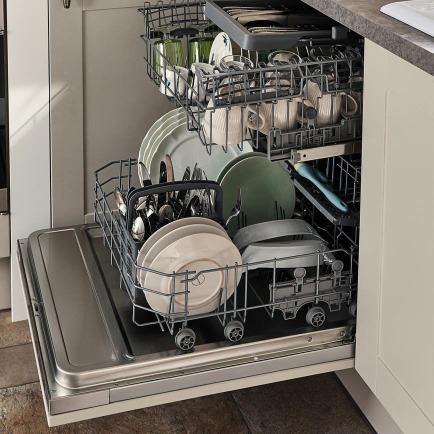 Burford Cashmere Lamona Eco Deluxe Fully Integrated Dishwasher