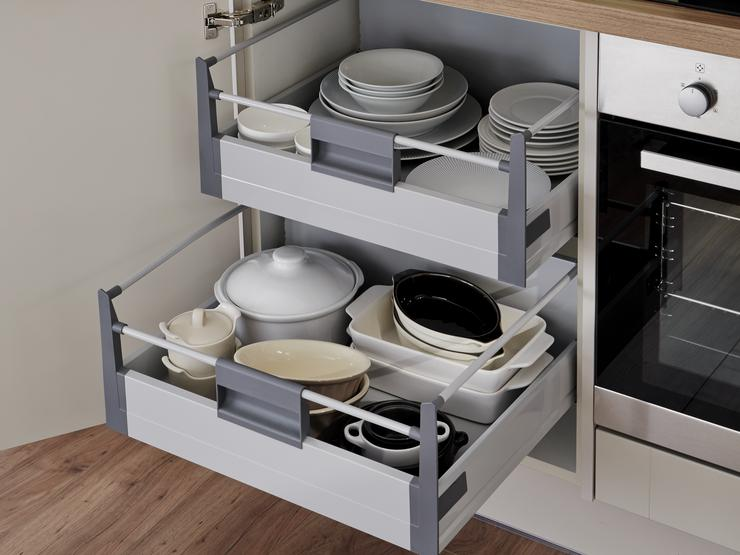 Deep Internal Storage Drawers