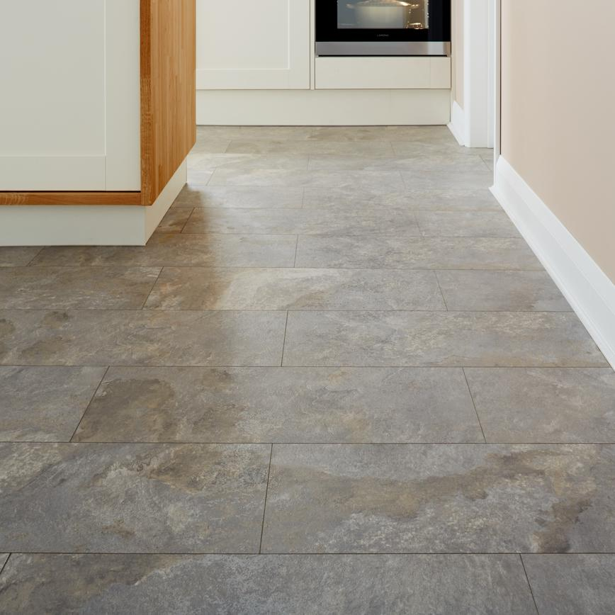 Howdens Professional Fast Fit V Groove Slate Effect Grey