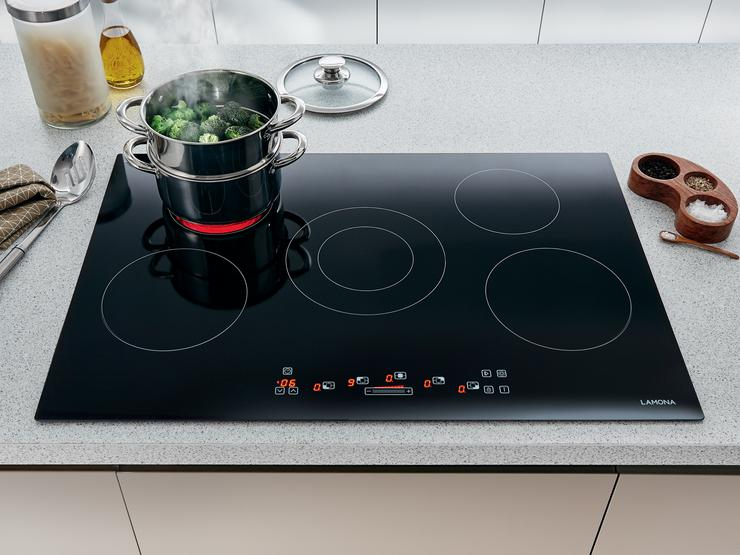 Lamona Front Touch Control 5 Zone Ceramic Hob