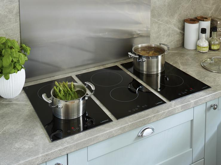 Tewkesbury Blue Lamona Front TouchControl Ceramic Domino Hobs