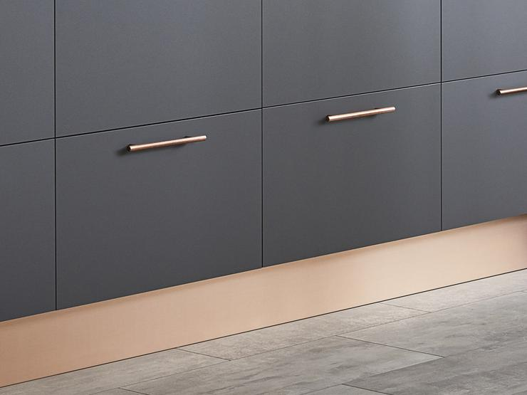 Howdens Copper Straight Plinth 3.0m x 18mm