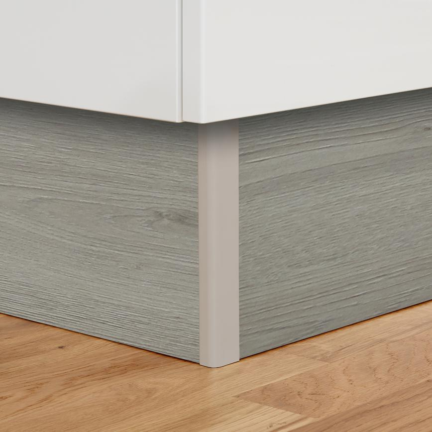 Light Grey Oak Plinth