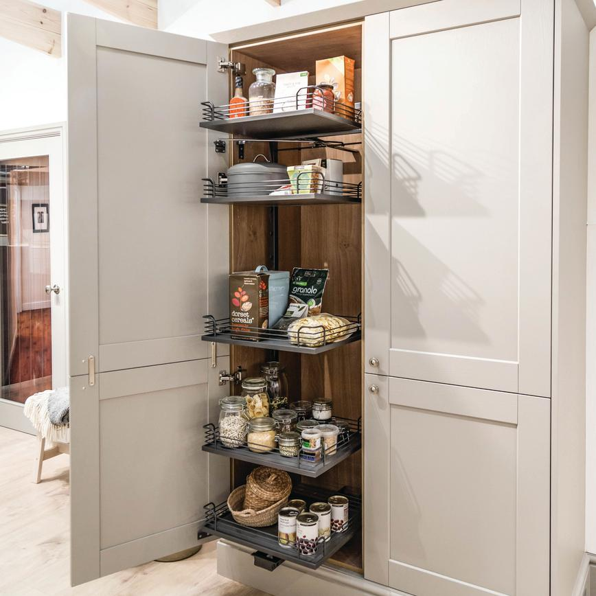 Full-Height Swing Forward Larder