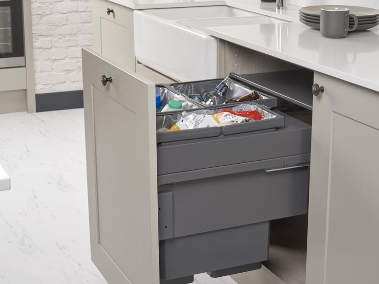 85L Integrated Recycling Bin