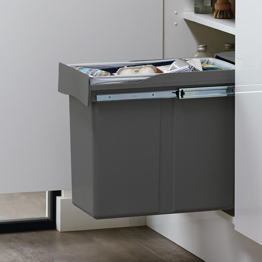 30L Pull-Out Recycling Bin
