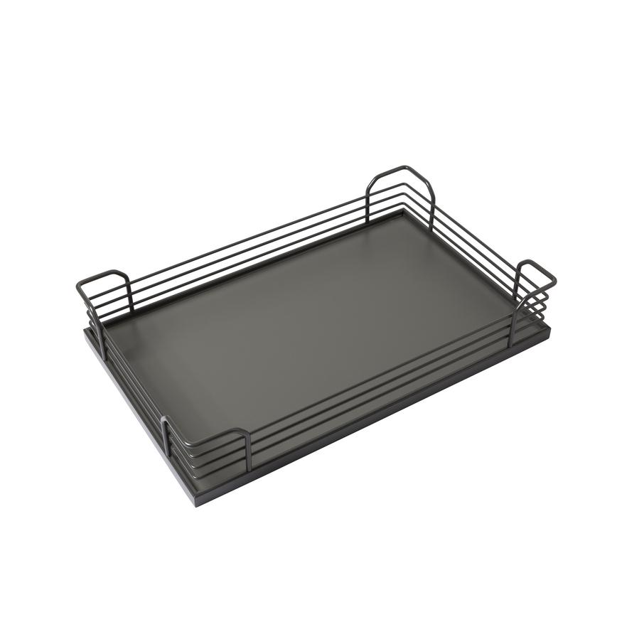 Magic Corner Pull Out Basket Set Anthracite