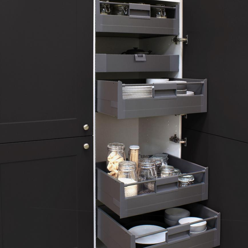 Larder with Internal drawers