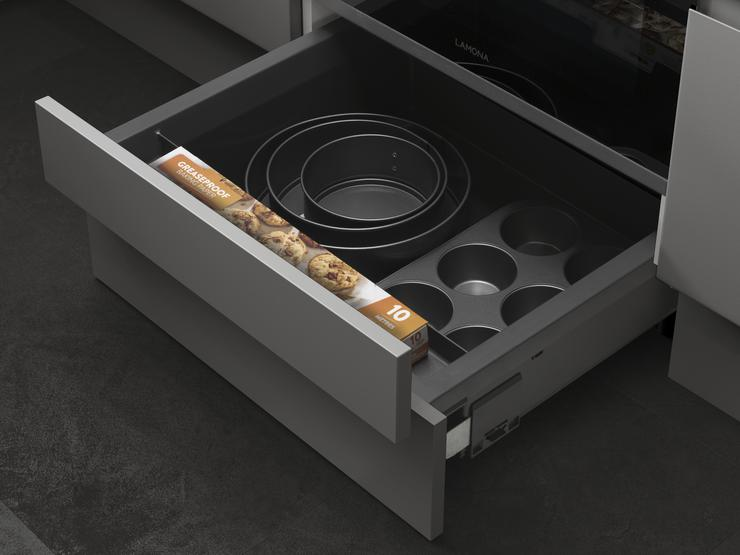 Built-Under Oven Housing Unit Plinth Drawer