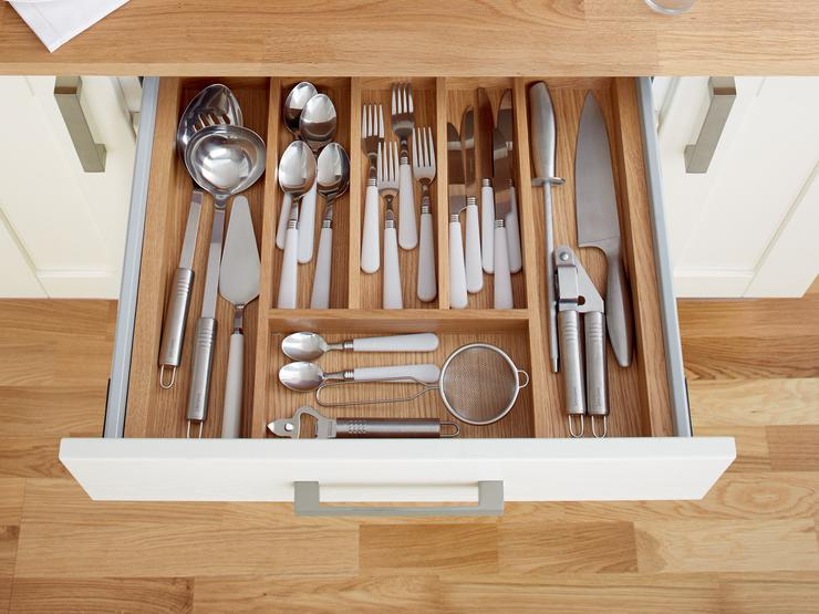 Standard Timber Cutlery Tray