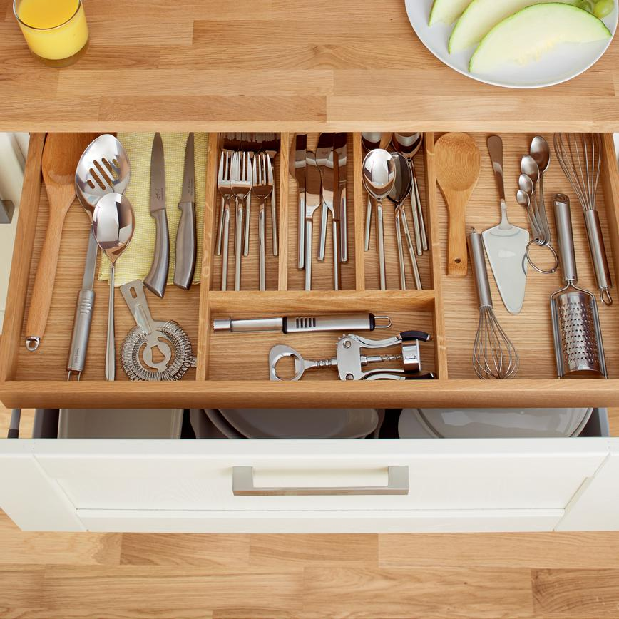 Timber Shallow Cutlery Drawer
