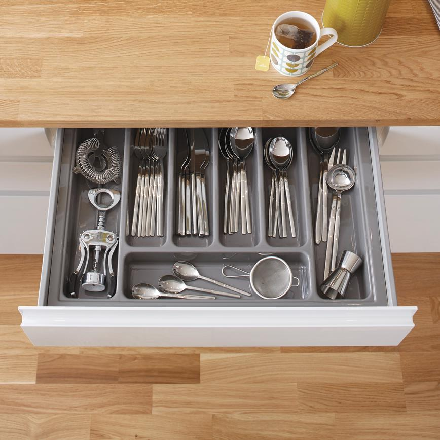 Silver Cutlery Tray to Suit Standard Drawers
