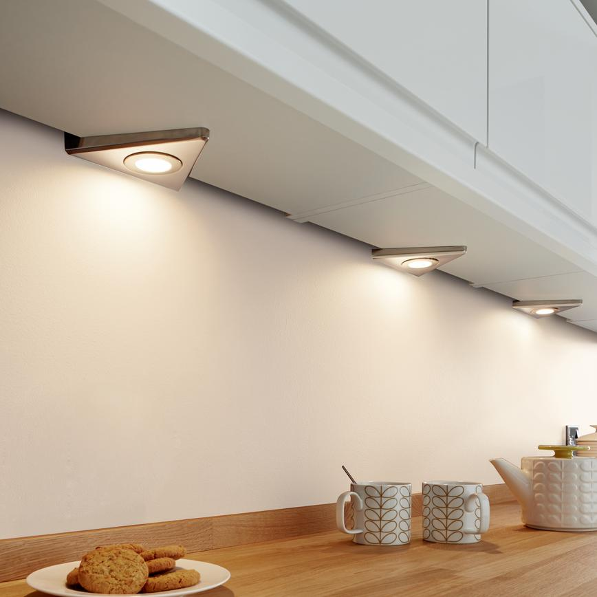 LED Slimline Pyramid Downlighters