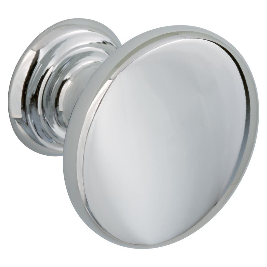 Chrome Knob Handle