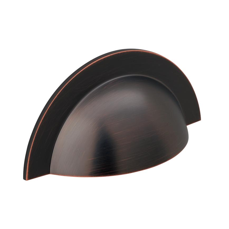 Blackened Copper Large Cup Handle