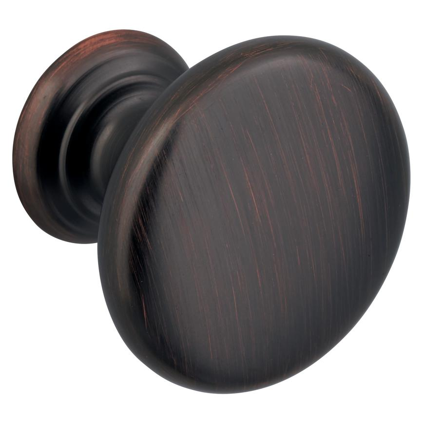 Blackened Copper Knob Handle