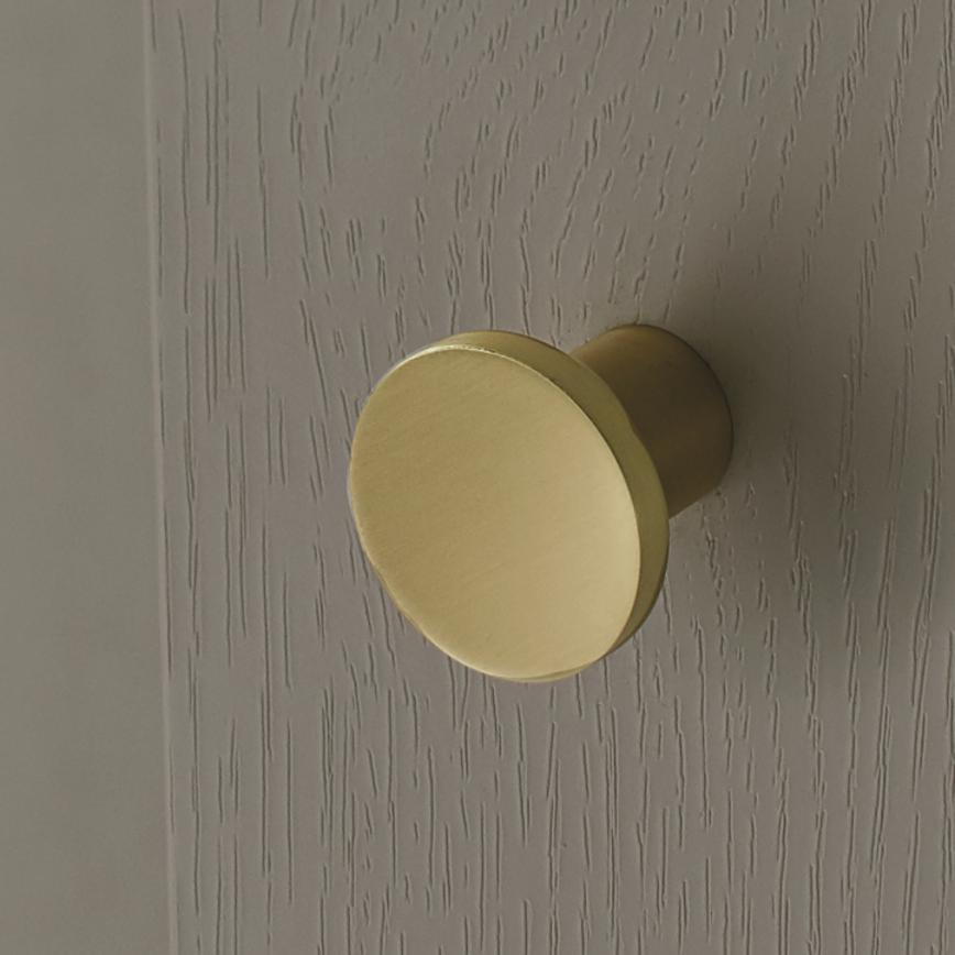 Brushed Brass Knob Handle