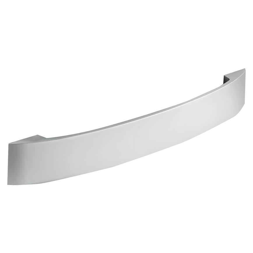 Thick Strap Polished Chrome D Cupboard Handle 235mm