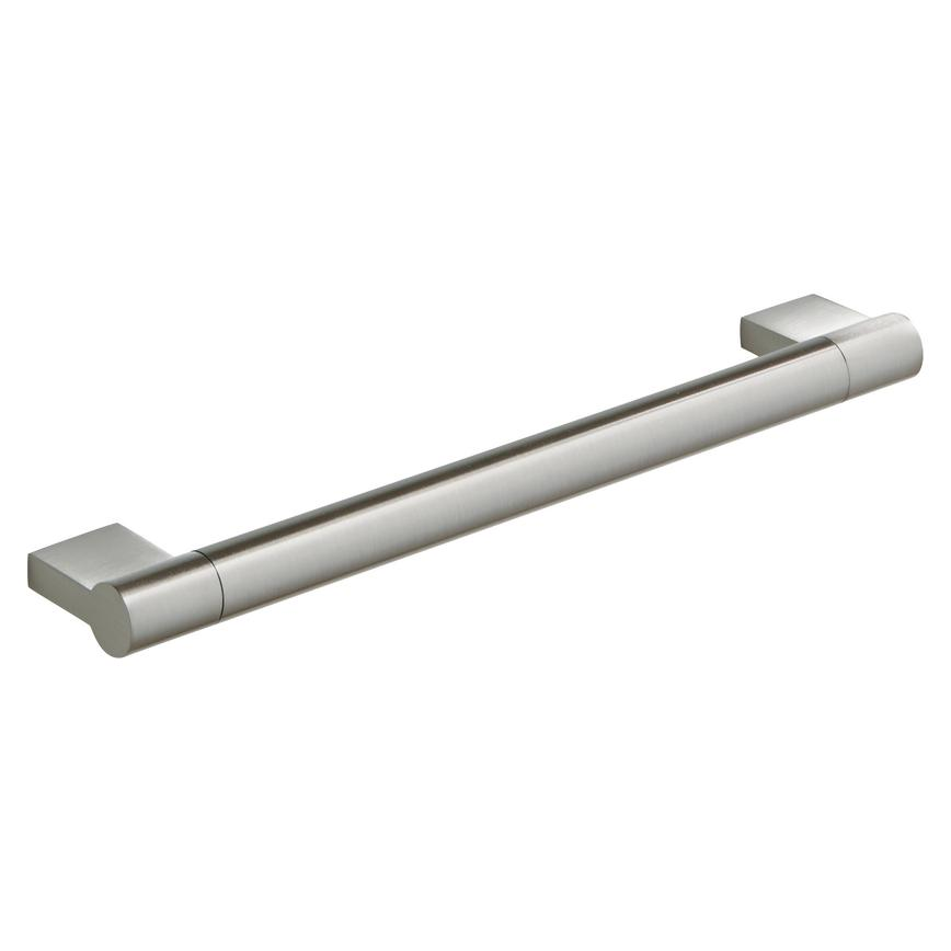 Nickel Effect Chunky Bar Handle
