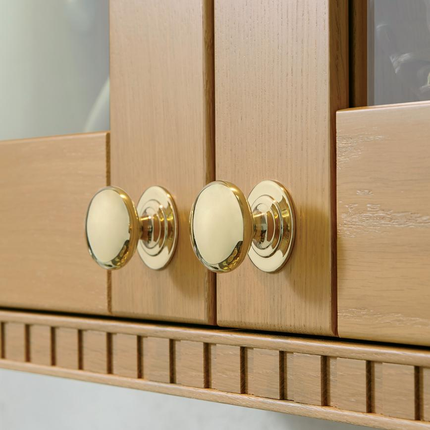 Brass Effect Knob Handles
