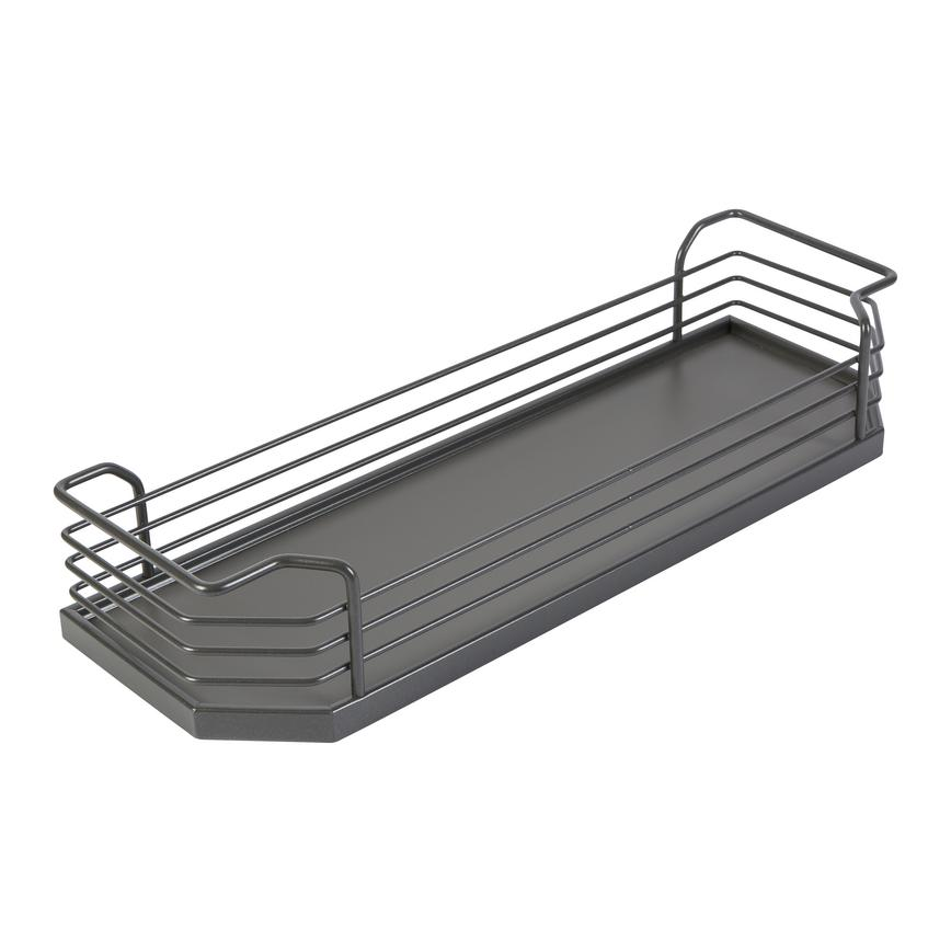Solid Base Pull-Out Basket 200mm