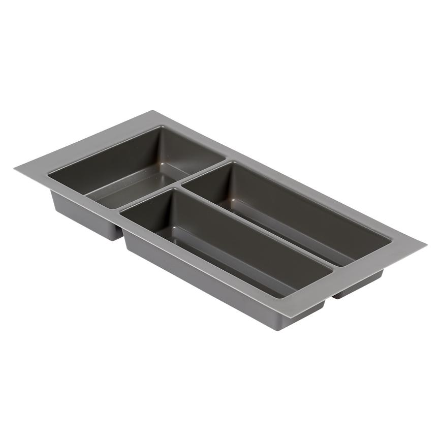 Upgrade Anthracite Cutlery Tray 300mm