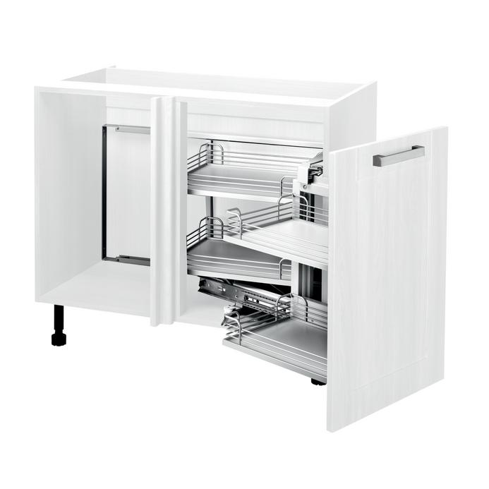 Pre-fitted Pull Out Corner Base Unit
