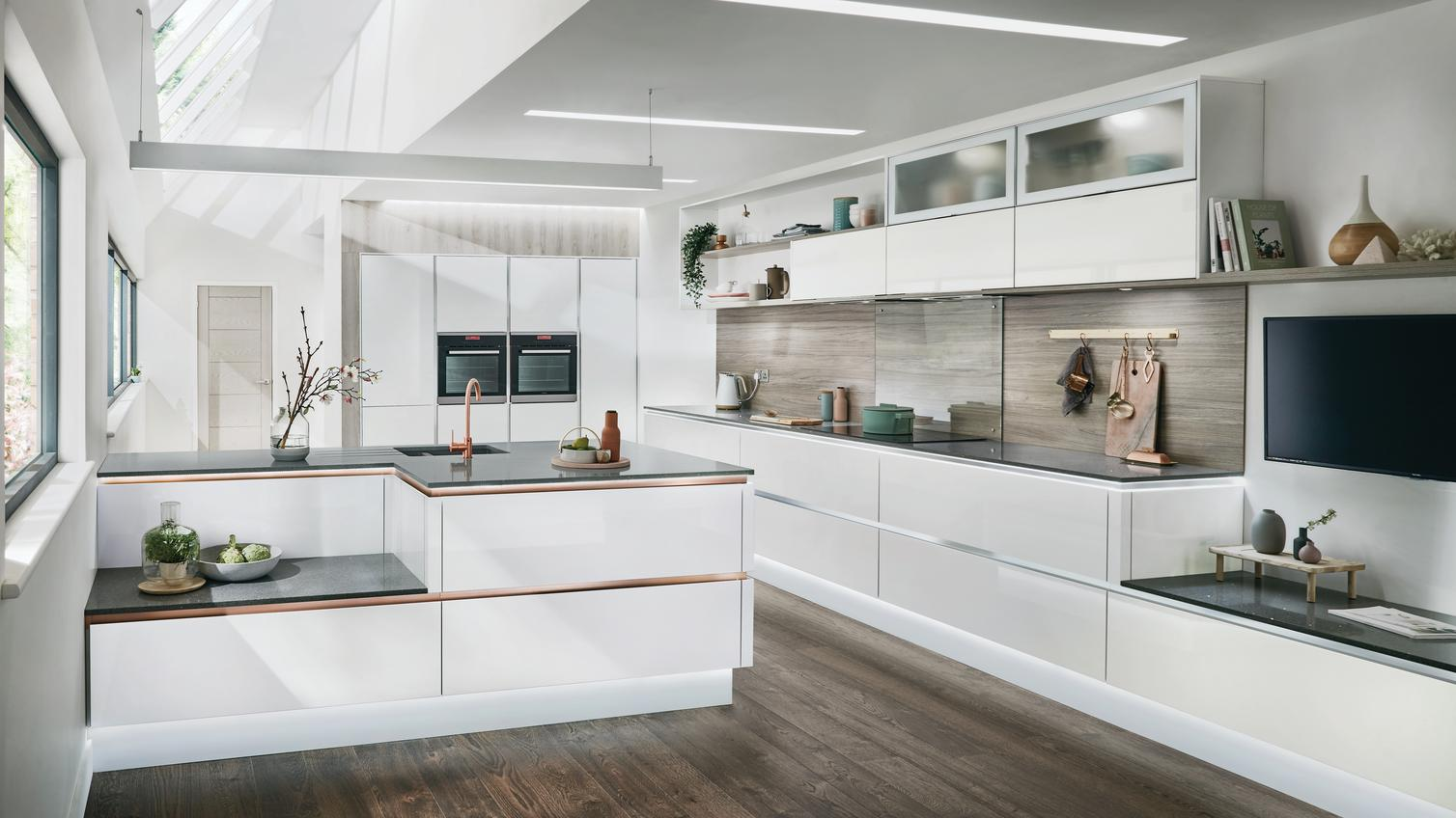 contemporary kitchens | modern kitchen design | howdens