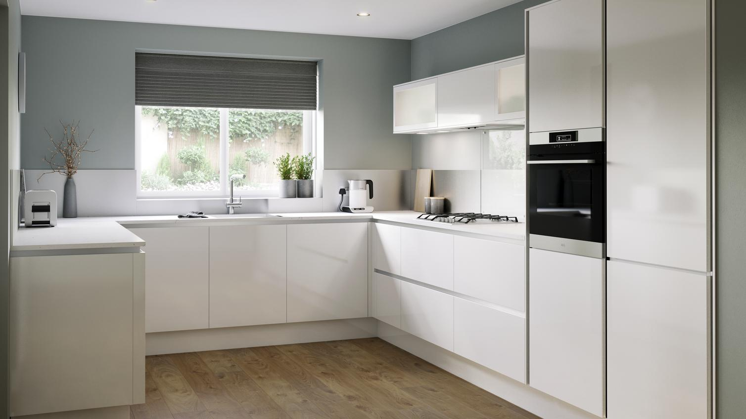 Design Collection Marvelous Gloss White Kitchen Design 50 New Inspiration