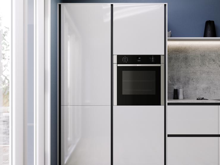 Balham Gloss Dove Grey Tower Units