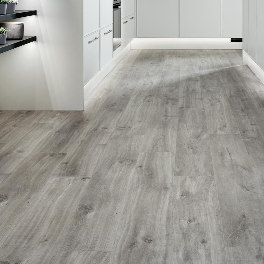 Quick Step Livyn Light Grey Oak Vinyl Flooring 2 10sq M