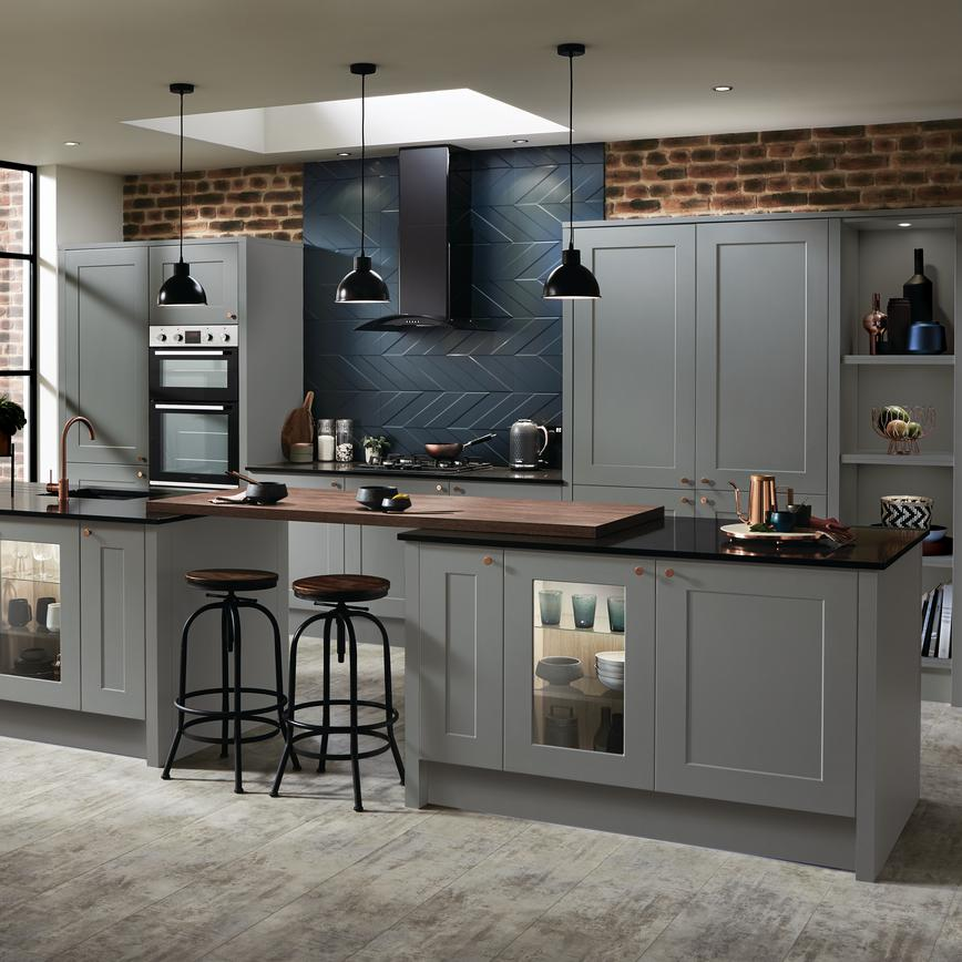 Grey Industrial Kitchen: Industrial Trend