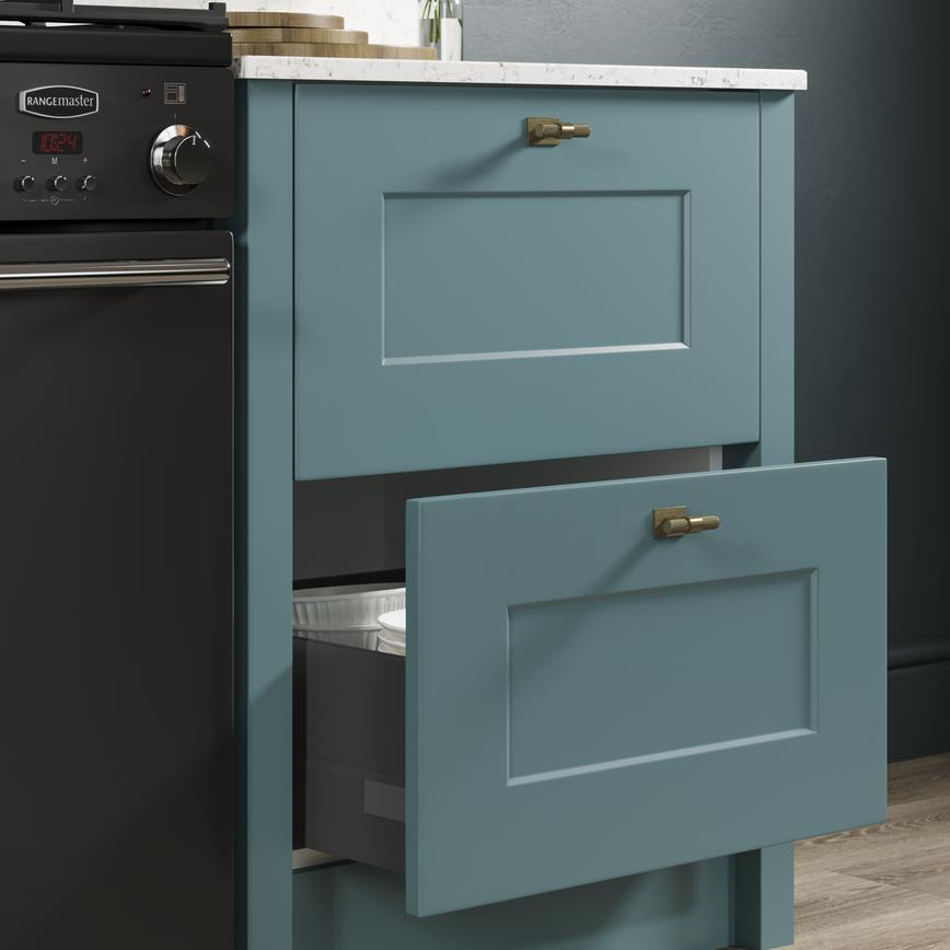 Chelford paintable in teal