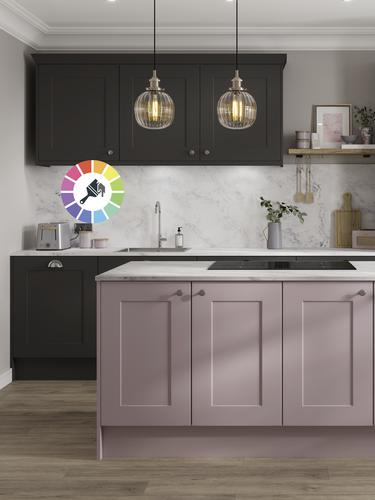 Create a design full of personality with these Chelford shaker cupboard doors, which can be customised with any paint colour