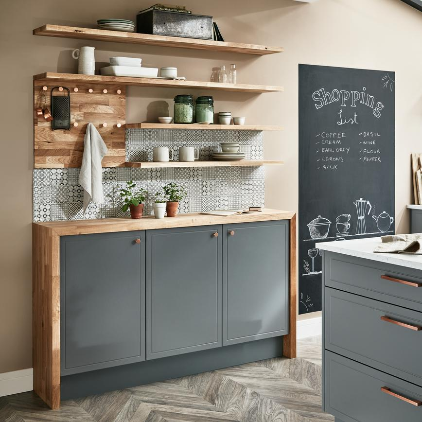 Lewes Slate Grey Howdens Joinery