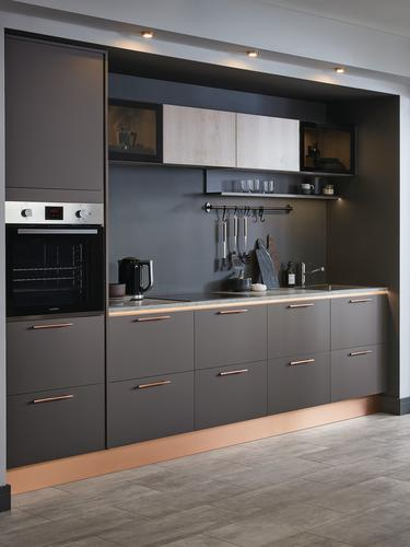 Greenwich Super Matt Graphite Howdens Joinery