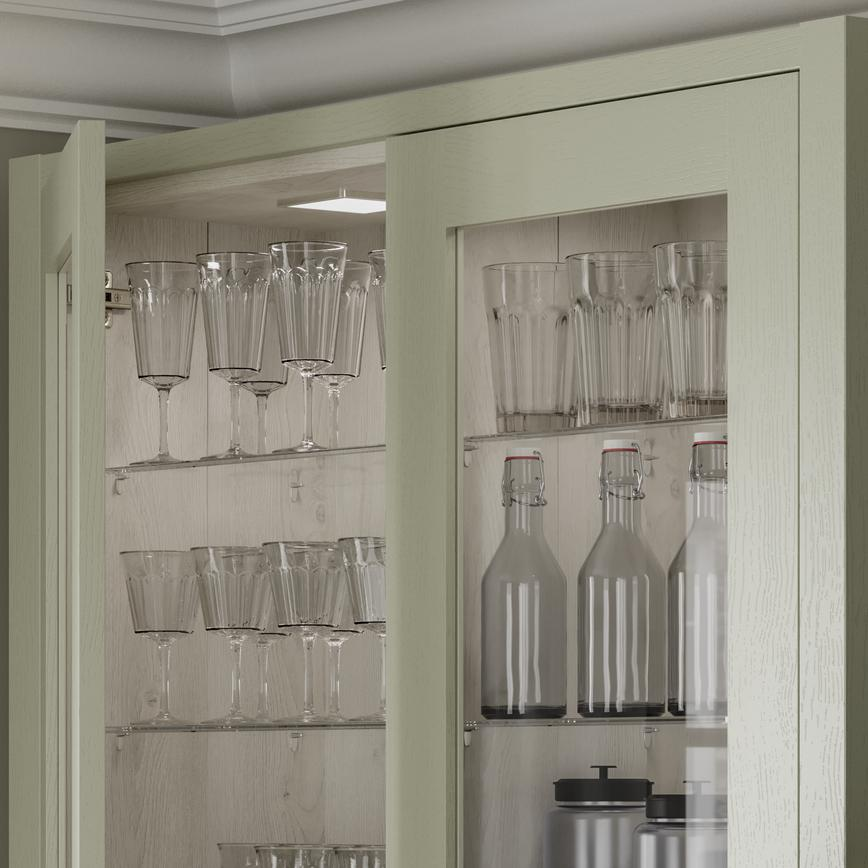 Chilcomb Sage Green - Wall cabinet