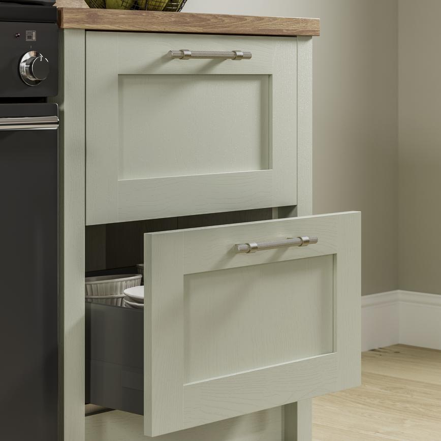 Chilcomb Sage Green - Drawers