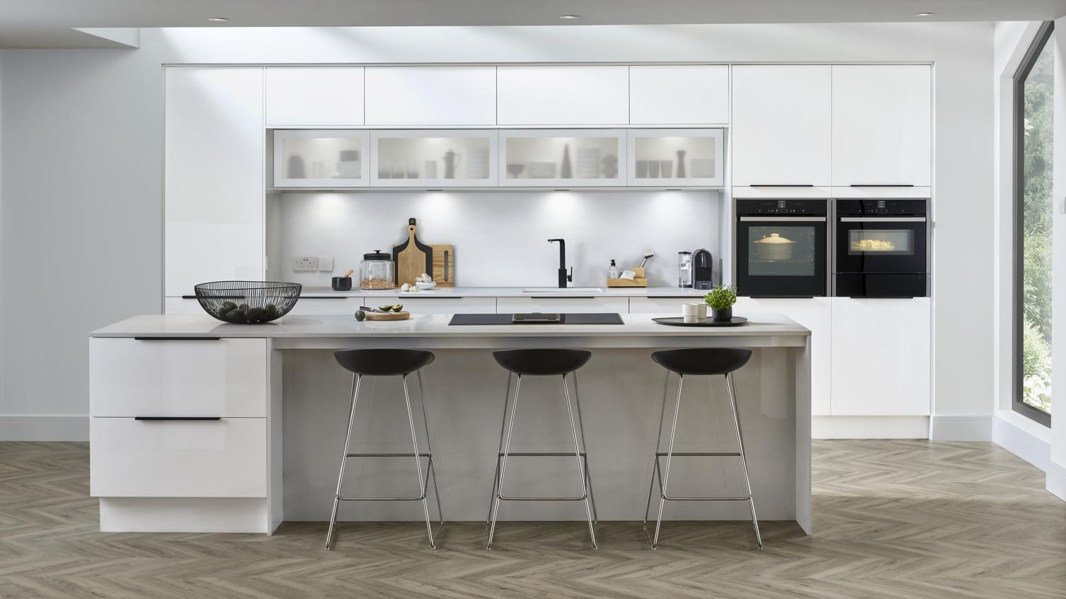 White Kitchen Ideas  Kitchen Colour Ideas Howdens
