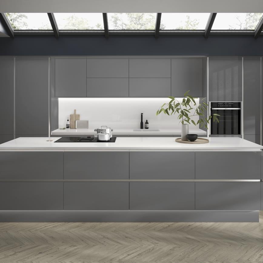 Handleless Cabinets | Kitchen Cabinets | Howdens