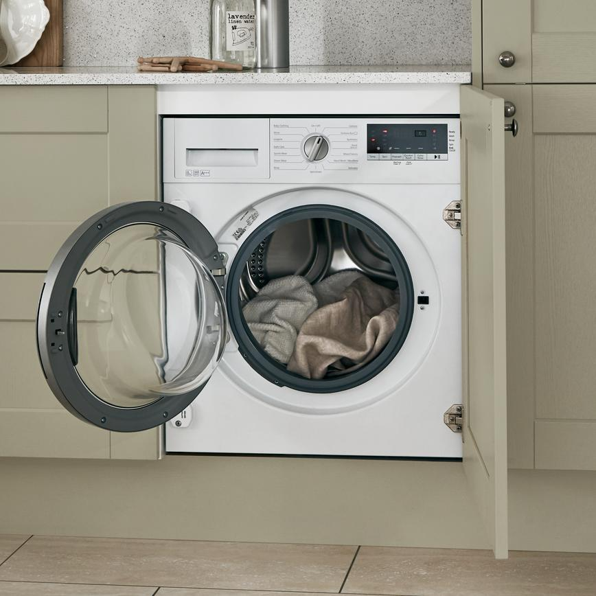 Lamona integrated 1400rpm washing machine