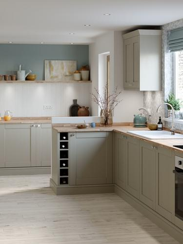 Fairford Pebble Main Set Shot - Kitchen Brochure