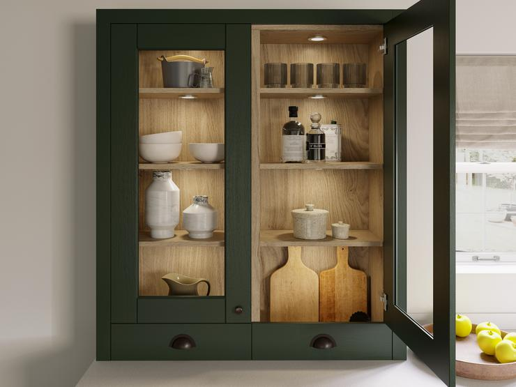 Fairford Dark Green Dresser Unit